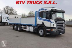 Camion cassone Scania P 380 CASSONE FISSO CON PEDANA A BATTUTA