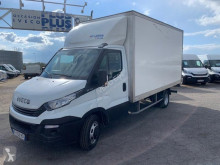 Utilitaire châssis cabine Iveco Daily 35C16 - Caisse 20 m3 hayon - 25 900 HT