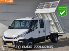Iveco Daily 35C14 Kipper met grote kist 3.5t Trekhaak Airco Cruise Tipper Benne A/C Double cabin Cruise control utilitaire plateau occasion