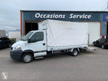 Renault Mascott 120 3.0 DXI used tarp covered bed flatbed van
