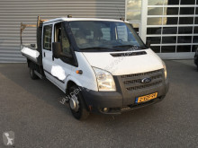 Ford Transit 350L 2.2 TDCI 155 pk DC Dubbel Cabine Pick Up/Open Laadbak/Dubbel lucht/Navi/Cruise/Airco/Trekha used flatbed van