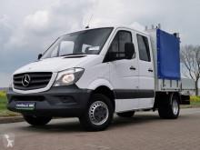 Veículo utilitário comercial estrado caixa aberta Mercedes Sprinter 516 cdi dubbele cabine,
