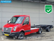 Veículo utilitário carrinha comercial chassis cabina Volkswagen Crafter 163PK BE trekker Containerchassis Oprijwagen oplegger combinatie A/C Cruise control