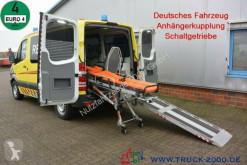 Ambulance Mercedes Sprinter 315 CDI RTW Trage Rollstuhl Rampe AHK