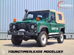 Land Rover Defender 90 4x4 - TD5 - Low KM!! - Soft Rooftop - Cabrio - Lier, Winch samochód 4x4 używany