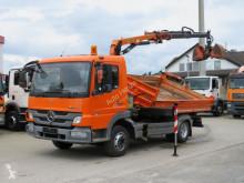 Ciężarówka Mercedes Atego 818 K 2-Achs Kipper Kran Greiferst. wywrotka trójstronny wyładunek używana