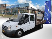 Ford haszongépjármű plató Transit 350L 140Pk 6 Persoons Hiab 025 3x Uitschuif 2800 Kg Trekaak DC