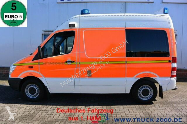 Vedere le foto Veicolo commerciale Mercedes Sprinter Sprinter 316 CDI GSF RTW Ambulance Rollstuhl