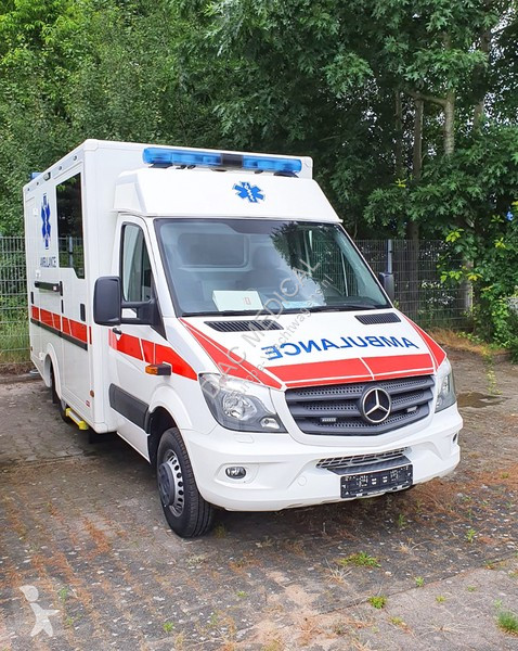 Vedere le foto Veicolo commerciale Mercedes Sprinter 515 CDI Ambulance (NEW) – Only for sale outside the EU