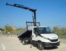 Furgoneta Iveco Daily DAILY 35C18 EURO 6 GRU + RIBALTABILE furgoneta volquete usada