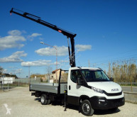 Iveco flatbed van Daily DAILY 35C15 EURO 6 NUOVO GRU 12m + CASSONE