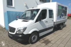 Furgoneta furgoneta con lona Mercedes Sprinter 316 CDI Pritsche Doppelkabine Klima