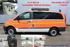 Ambulance Mercedes Vito 116 Aut. 4x4 WAS Notarzt-Rettung- Ambulance