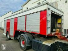 Feuerwehr-Geräteauflieger mit Stromgenerator Feuerwehr-Geräteauflieger mit Stromgenerator truck used fire