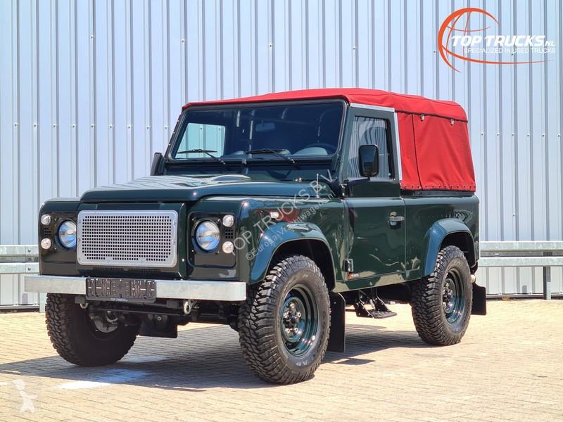 Zobaczyć zdjęcia Pojazd dostawczy Land Rover Defender 90 4x4 - 2.2 Diesel - Airco - Cabrio - Soft Rooftop - Nieuwstaat! Like new!