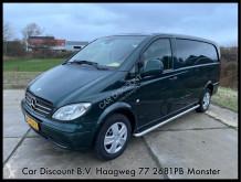 Fourgon utilitaire Mercedes Vito 120 cdi 320 lang dc luxe 349.662km nap airco automaat schuifdeur rechts euro 4