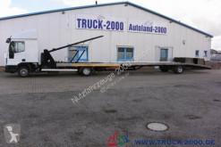 Camion Iveco Eurocargo EuroCargo 100E22 für PKW-Transporter-Wohnmobile porte voitures occasion
