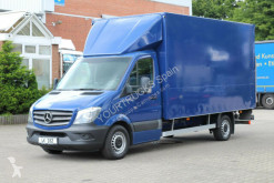 Furgoneta furgón Mercedes Sprinter/Koffer 4,38m/LBW/Klima/Rückfahrkamera