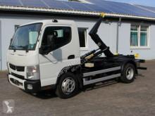 Pojazd dostawczy z hakiem do ładowania Fuso Canter Canter Abrollkipper Palfinger AHK