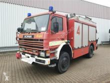 Camion pompiers 113 PH 4x4 Feuerwehr Rüstwagen 113 PH 4x4 Feuerwehr Rüstwagen, Kran HIAB 071, Seilwinde