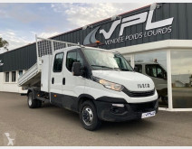 Utilitaire châssis cabine Iveco Daily CCB 35C13 D EMPATTEMENT 3750 TOR BENNE COFFRE DOUBLE CABINE