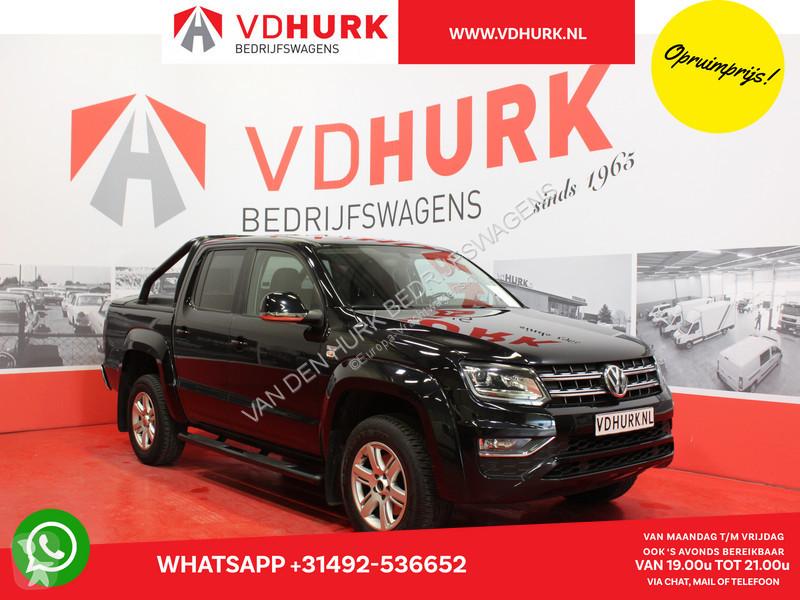 Vedere le foto Veicolo commerciale Volkswagen Amarok V6 3.0 TDI 224 pk Aut. Highline Topcover/Rollbar/Standkachel/Xenon/Navi/Leder/Trekhaak/Cruise