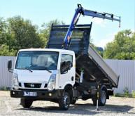 Utilitaire benne Nissan CABSTAR 35.14 NT 400 Kipper 3,60 m + KRAN