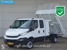 Iveco Daily 35C14 140pk Kipper Dubbele cabine Airco Tipper Benne Toolbox A/C Double cabin Towbar Cruise control utilitaire benne occasion