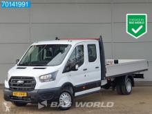 Ford Transit 170PK Open laadbak 3500kg trekhaak 420cm bak Dubbellucht A/C Double cabin Towbar Cruise control utilitaire plateau neuf