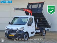 Utilitaire benne Renault Master 2.3 DCI 165PK Kipper Kraan 3T/M Fassi Tipper Benne Kieper A/C Cruise control