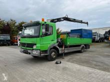 Ciężarówka Mercedes Atego 818 L Pritsche Kran platforma burtowa używana