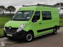 Kassevogn Renault Master 2.3 dci dubbel cabine!