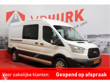 Ford Transit 350 2.0 TDCI 170 pk L3H2 DC Dubbel Cabine 7 P/PDC/Cruise/Airco fourgon utilitaire occasion