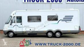 Camping-car Hymer B 754 3-Achsen SAT - TV - Solar Motorradträger