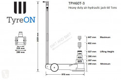 Voir les photos Véhicule utilitaire nc TPH60T-3 Air-Hydraulic Jack 60T - Three-stage