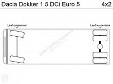 Zobaczyć zdjęcia Pojazd dostawczy Dacia Dokker 1.5 DCi Euro 5