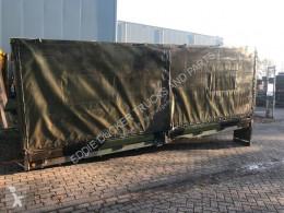 LAADBAK 5.70M X 2.43M caroserie cu prelată şi obloane second-hand