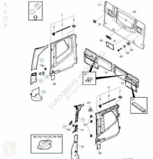 ricambio per autocarri Volvo Fixations pour tracteur routier FH4