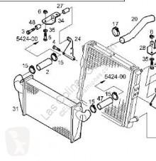 Refroidissement Iveco Eurocargo Radiateur de refroidissement du moteur pour camion Chasis (Typ 75 E 15) [5,9 Ltr. - 105 kW Diesel]