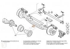 Repuestos para camiones suspensión Iveco Stralis Essieu Eje Delantero Completo pour camion AS 440S54