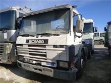 Części zamienne do pojazdów ciężarowych Scania M Pot d'échappeent pour caion 93 P93A4X2L używana