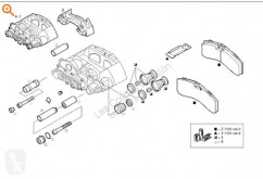 Pièces détachées PL occasion Iveco Eurotech Étrier de frein pour camion Cursor (MH) MP440E43T/P