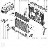Repuestos para camiones sistema de refrigeración Renault Radiateur de refroidissement du moteur pour camion MASTER II Caja/Chasis (ED/HD/UD) 2.2 dCI 90