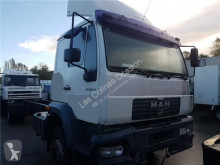 Repuestos para camiones MAN LC Pot d'échappement pour camion 18.224 LE280 B usado