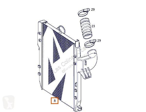 Voir les photos Pièces détachées PL OM Refroidisseur intermédiaire pour camion MERCEDES-BENZ Atego 2-Ejes 18 T /BM 950/2/4 1823 (4X2)  906 LA [6,4 Ltr. - 170 kW Diesel ( 906 LA)]