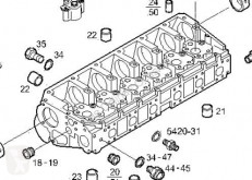 Pièces détachées PL Iveco Eurotech Culasse de cylindre pour camion (MP) FSA (440 E 43) [10,3 Ltr. - 316 kW Diesel] occasion