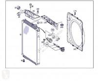 Ricambio per autocarri OM Radiateur de refroidissement du moteur pour tracteur routier MERCEDES-BENZ Axor 2 - Ejes Serie / BM 944 1843 4X2 457 LA [12,0 Ltr. - 315 kW R6 Diesel ( 457 LA)] usato