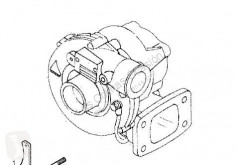قطع غيار الآليات الثقيلة محرك تغذية هوائية مكبس تربيني مستعمل Iveco Turbocompresseur de moteur pour tracteur routier SuperCargo (ML) FKI 180 E 27