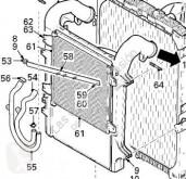 DAF Klimaanlage Radiateur de climatisation Condensador FAS 105.460, FAR 105.460, FAN 105.460 pour camion XF 105
