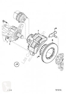 Części zamienne do pojazdów ciężarowych DAF Étrier de frein pour camion Serie LF55.XXX desde 06 Fg 4x2 używana